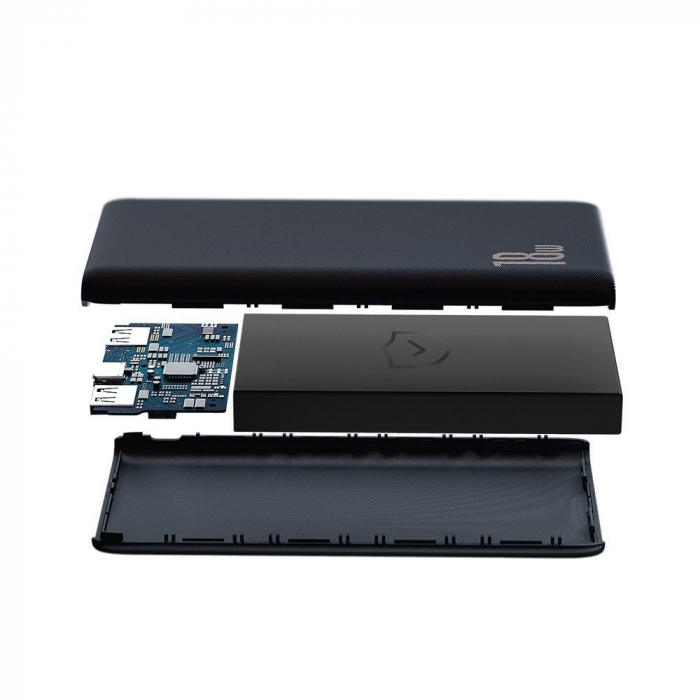 Baterie externa Baseus Bipow 10 000mAh 2XUSB 1X type C 18W [4]