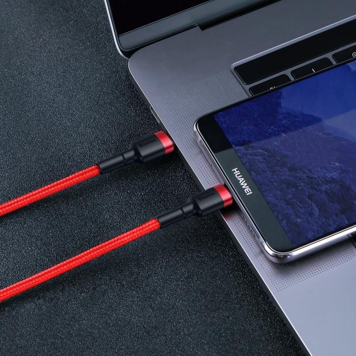 Cablu date/incarcare Baseus type C - type C 60W 2m CATKLF-H09 [5]