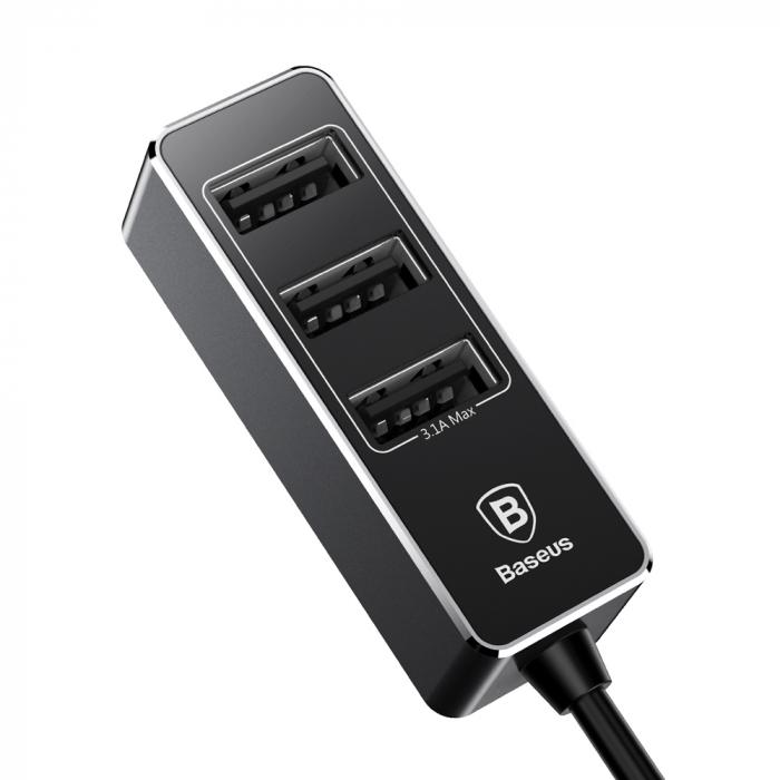 Incarcator auto Baseus Enjoy Together +4 X USB 5.5A  CCTON-01 [2]