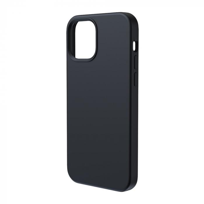 Husa Baseus Liquid Silica Gel Protective iPhone 12 Pro Max [1]