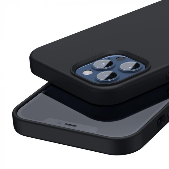 Husa Baseus Liquid Silica Gel Protective iPhone 12 Pro Max [4]