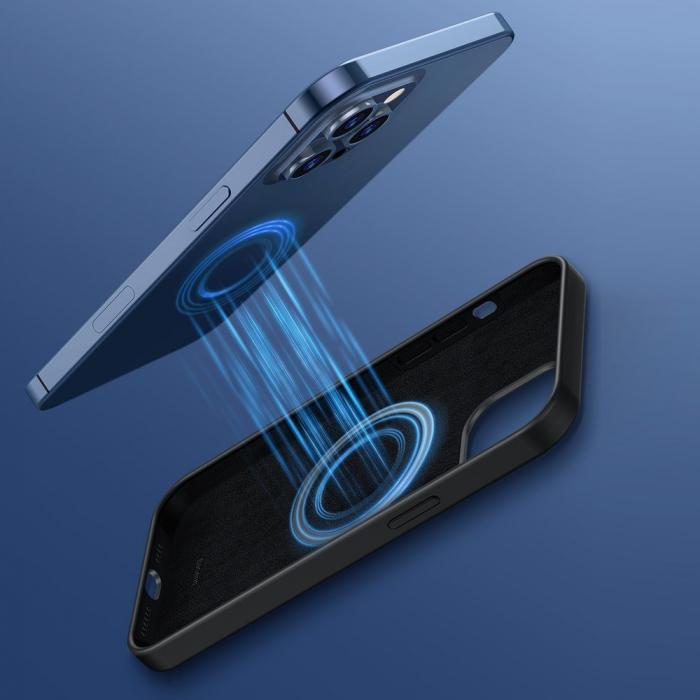 Husa Baseus Liquid Silica Gel Protective iPhone 12 Pro Max [5]