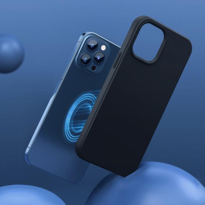 Husa Baseus Liquid Silica Gel Protective iPhone 12 Pro Max [6]