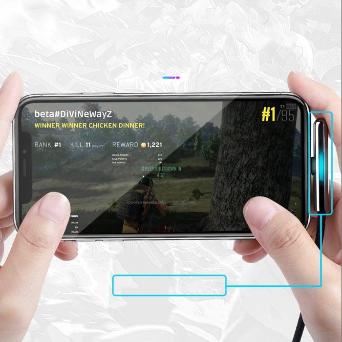 Cablu de date si incarcare Lightning  Baseus Mobile Game  1.5A, 2M CAL7C-B01 5