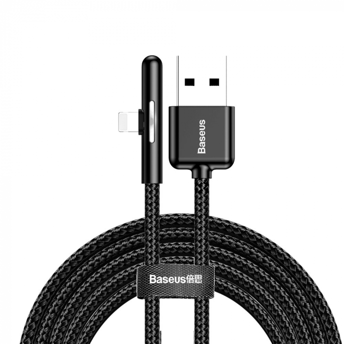 Cablu de date si incarcare Lightning  Baseus Mobile Game  1.5A, 2M CAL7C-B01 1