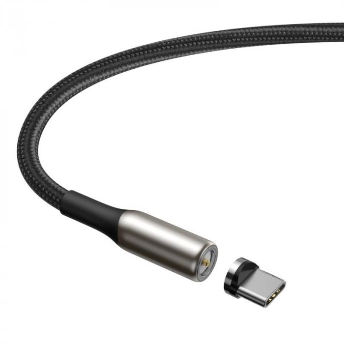 Cablu Baseus Zinc Magnetic USB - type C 2A 1m CATXC-H01 3