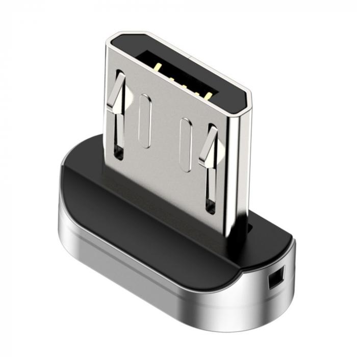 Adaptor Magnetic Micro Usb Baseus Zinc 0