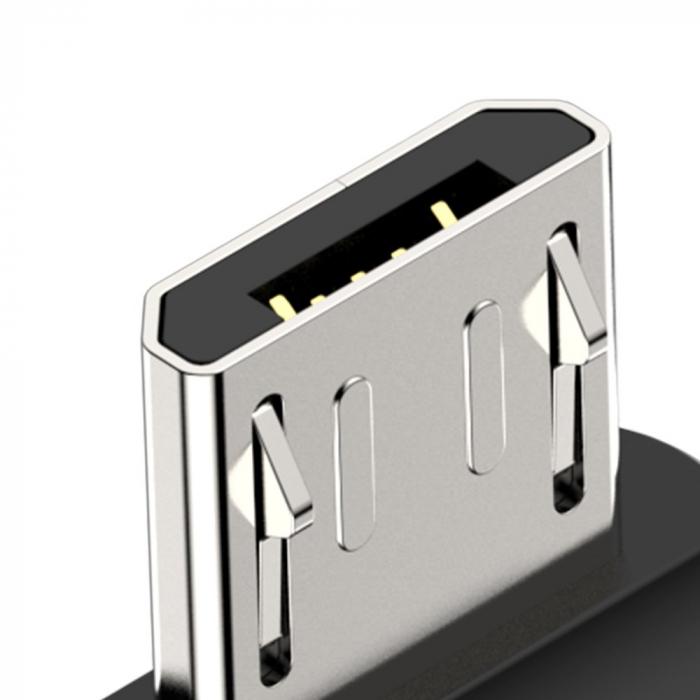 Adaptor Magnetic Micro Usb Baseus Zinc 5