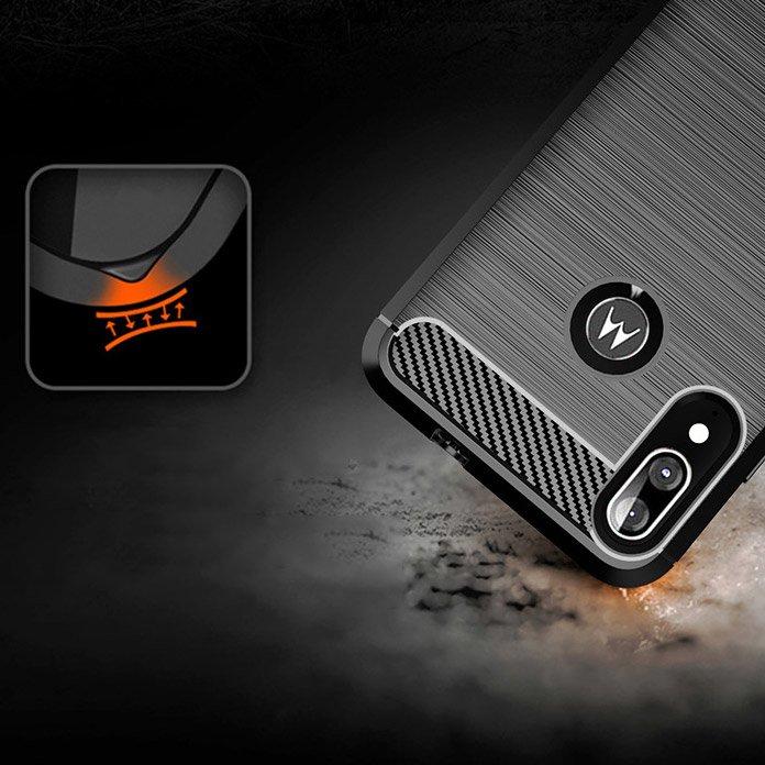 Husa TPU crbon Motorola Moto E6 Plus [4]