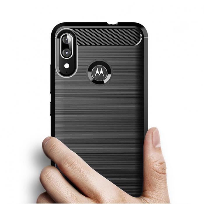 Husa TPU crbon Motorola Moto E6 Plus [1]