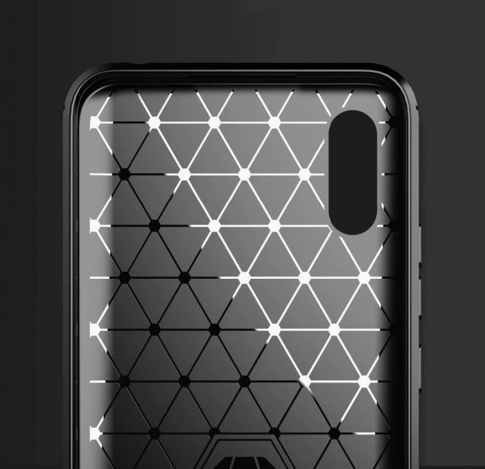 HUSA Carbon Case Flexible Cover TPU  Xiaomi Redmi 9A 1