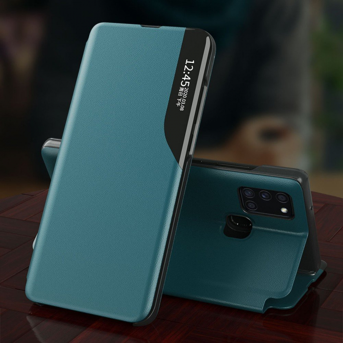 Husa Eco Leather View Case Huawei P30 Lite 5