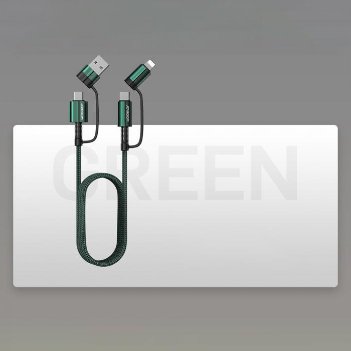 Cablu Joyroom 4 in1 - USB Type C / USB - USB Type C / Lithtning  3 A 1,8 m [5]