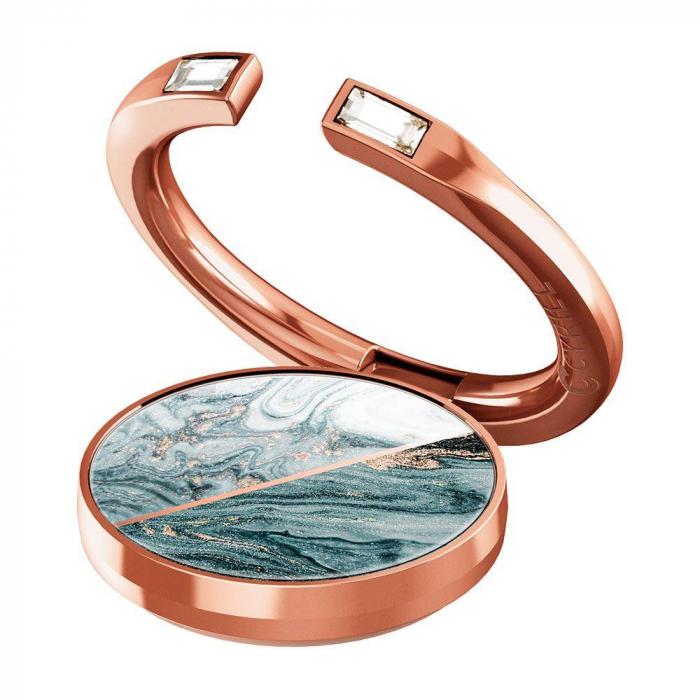 Suport inel Spigen Cyrill Shine Pink Marble [0]