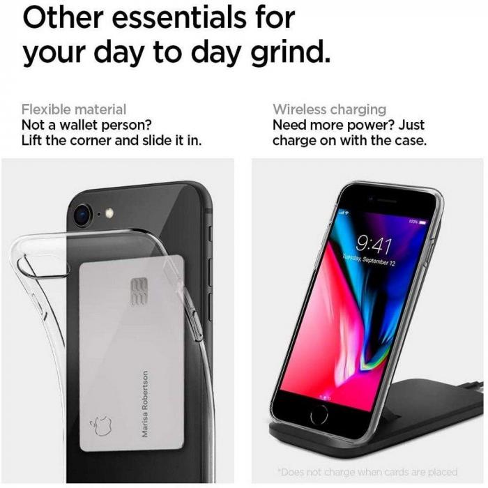 Husa Spigen Liquid Crystal IPhone 7/8/SE 2020 [5]