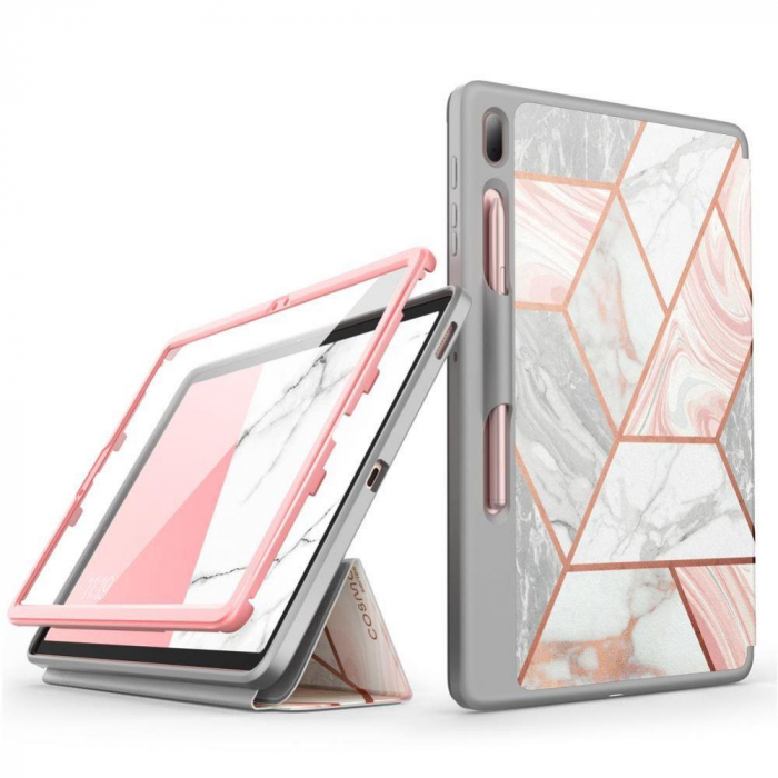 Husa Supcase Cosmo Samsung Galaxy Tab S7 FE Marble 12.4 inch [0]