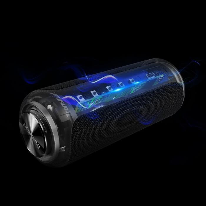 Boxa portabila Tronsmart T6 Plus Upgraded, Bluetooth 5.0, IPX 6, baterie 6600 mAh, functie de baterie externa, 40W [8]