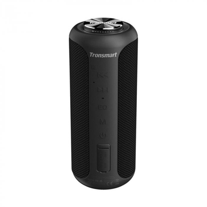 Boxa portabila Tronsmart T6 Plus Upgraded, Bluetooth 5.0, IPX 6, baterie 6600 mAh, functie de baterie externa, 40W [0]