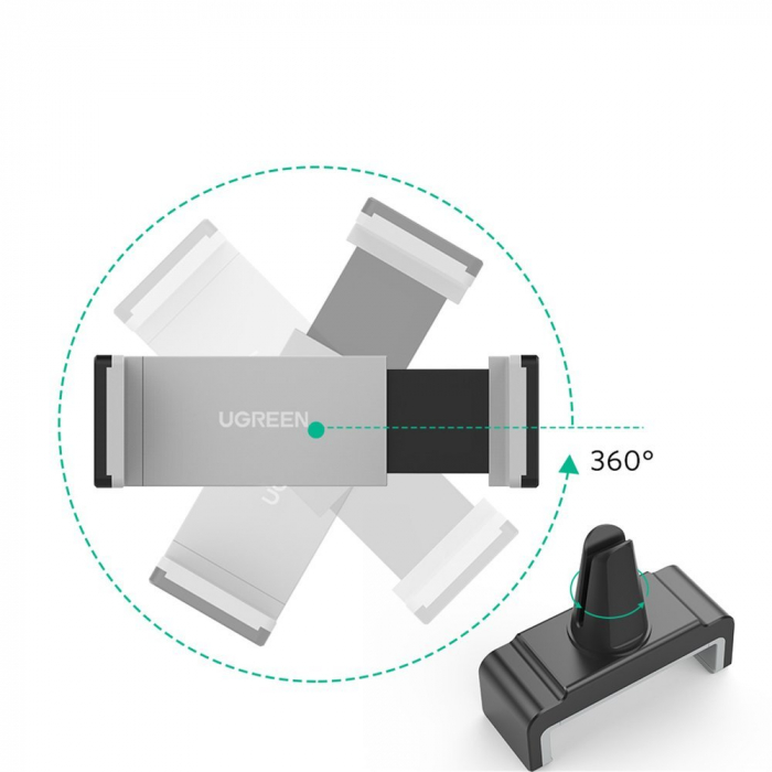 Suport auto Ugreen Smartphone universal 3.5 - 6.0 inch [3]