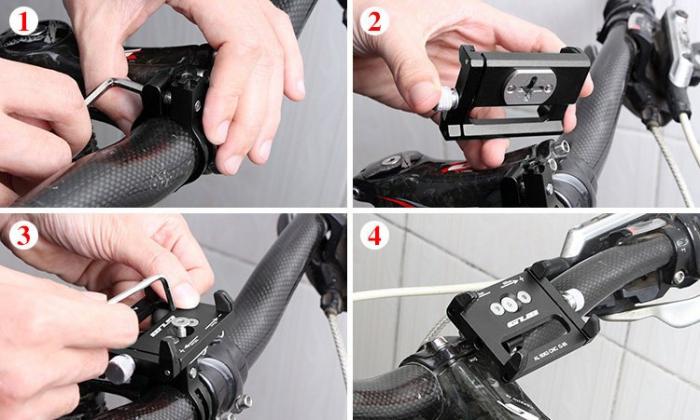 Suport bicicleta Wozinsky pentru telefon cu prindere pe ghidon [5]