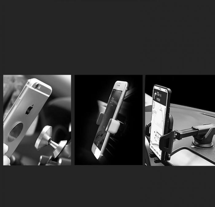 Suport auto universal magnetic Wozinsky prindere in grila de ventilatie WCH-03 [4]