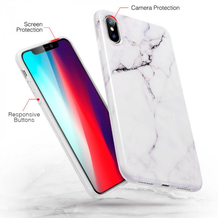 Husa ESR Mimic Marble IPhone XS Max [2]