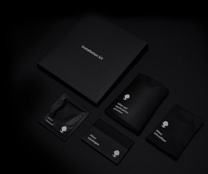Folie Alien Surface Samsung Galaxy S9 Plus fata case compatible 1