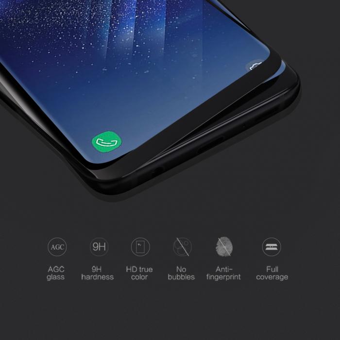 Folie sticla Nillkin CP+ Max 3D Samsung Galaxy S8 Plus 3