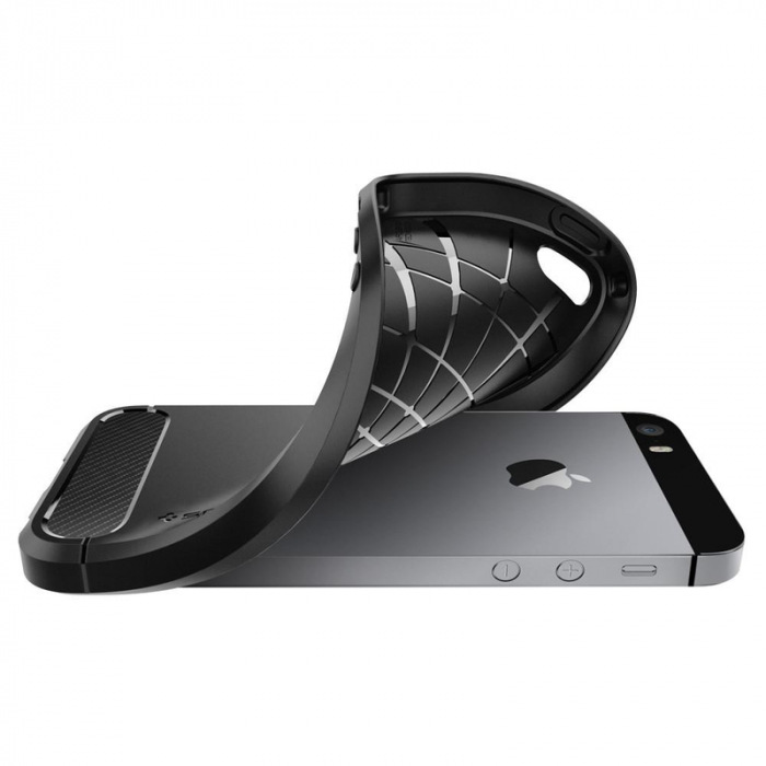 Husa Spigen Rugged Armor Iphone 5/5s/SE 2
