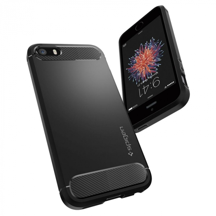 Husa Spigen Rugged Armor Iphone 5/5s/SE 1