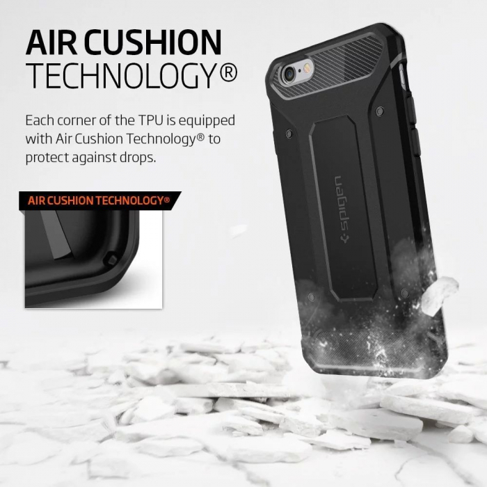 Husa Spigen Rugged Capsule Iphone 6/6S Plus 1