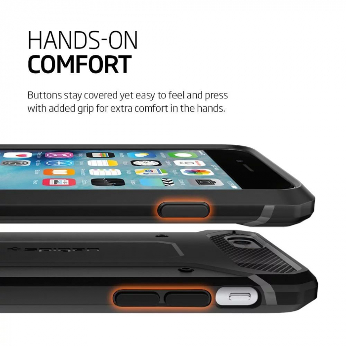 Husa Spigen Rugged Capsule Iphone 6/6S Plus 8