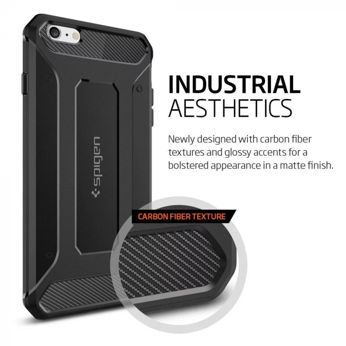 Husa Spigen Rugged Capsule Iphone 6/6S Plus 5