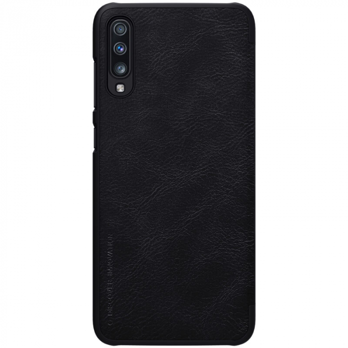 HUSA NILLKIN QIN LEATHER SAMSUNG GALAXY A70 BLACK 1