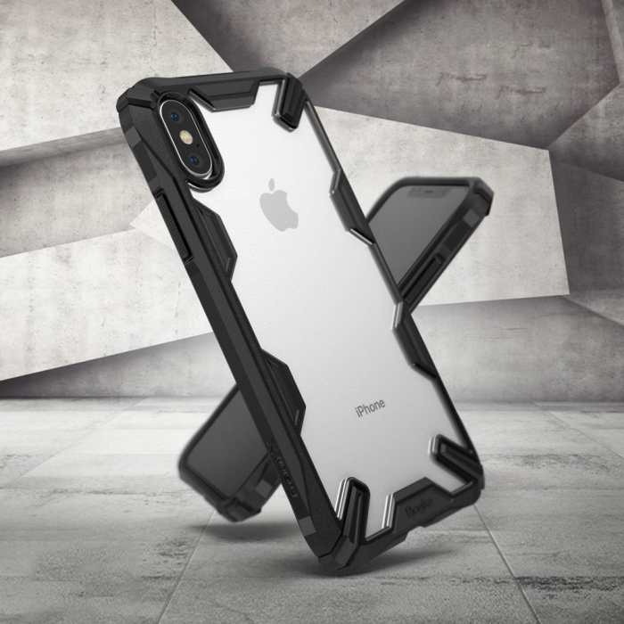 HUSA RINGKE IPHONE X/XS BLACK 1