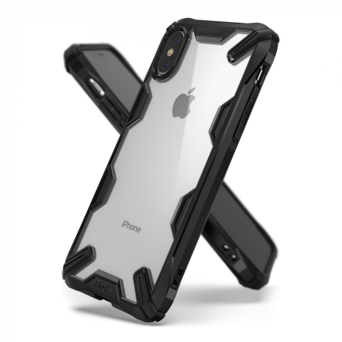HUSA RINGKE IPHONE X/XS BLACK 0