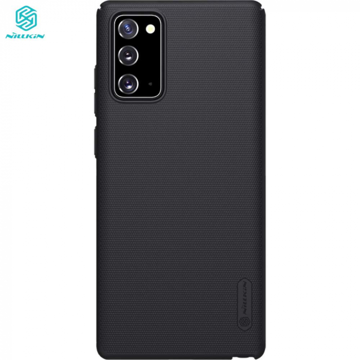 Husa Samsung Galaxy Note 20 - Nillkin Super Frosted Shield Black 1