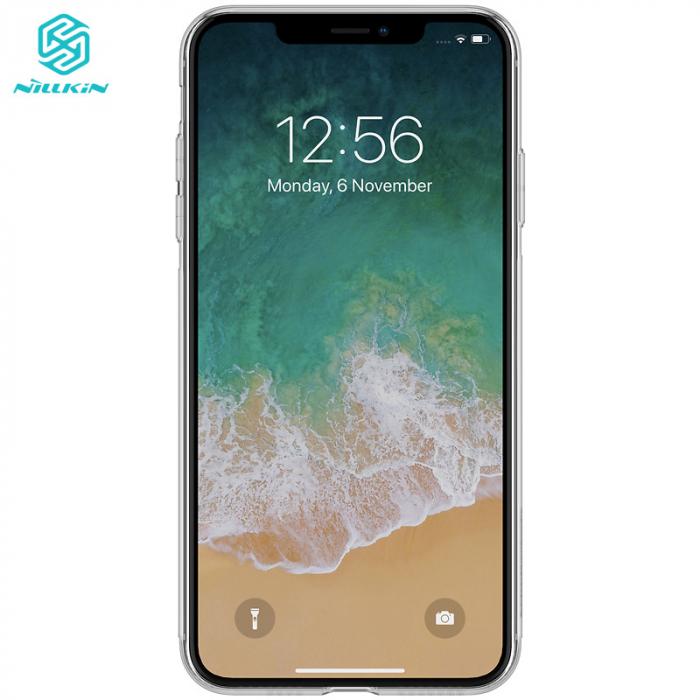 HUSA SILICON TPU APPLE IPHONE XS MAX NILLKIN NATURE 4