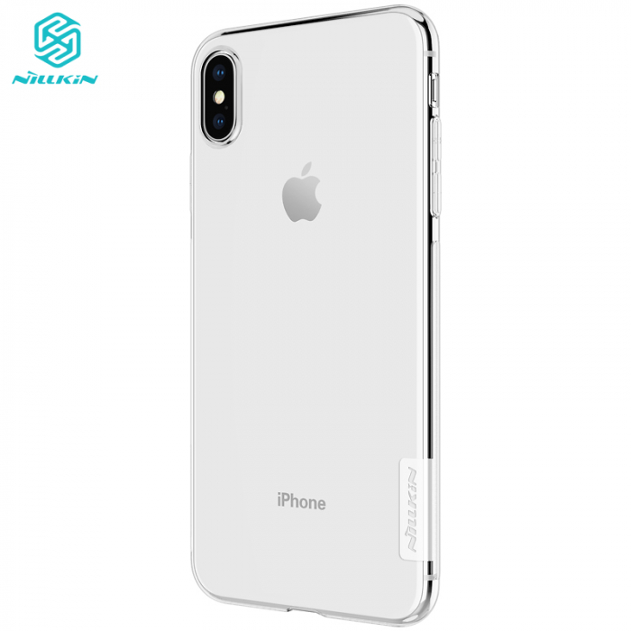 HUSA SILICON TPU APPLE IPHONE XS MAX NILLKIN NATURE 1
