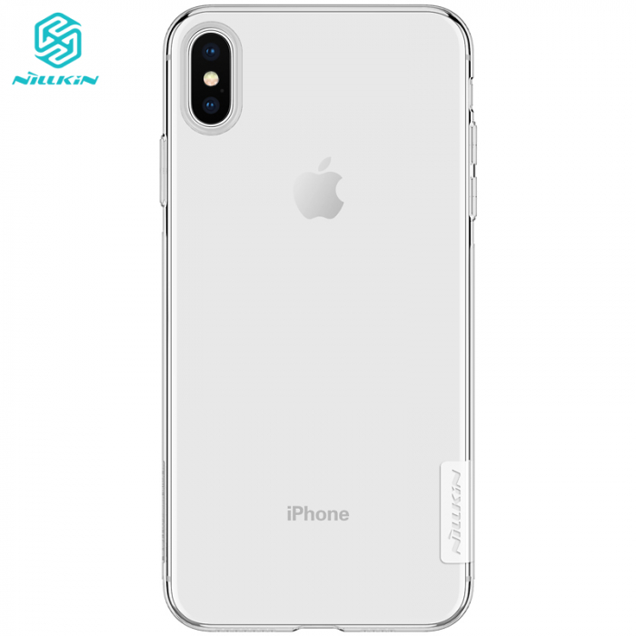 HUSA SILICON TPU APPLE IPHONE XS MAX NILLKIN NATURE 0