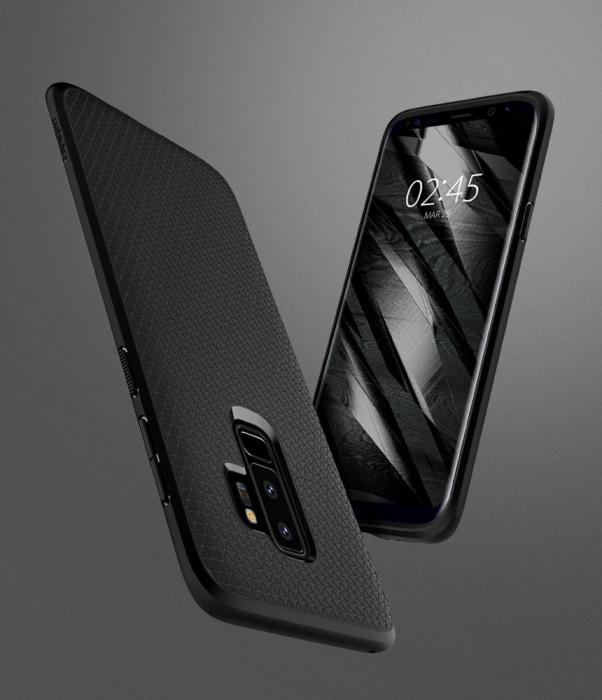 Husa Spigen Liquid Air Samsung Galaxy S9 Plus 4
