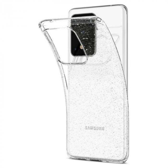 Husa Spigen Liquid Crystal Glitter Samsung Galaxy S20 Ultra 4