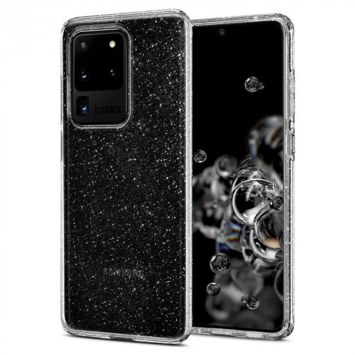 Husa Spigen Liquid Crystal Glitter Samsung Galaxy S20 Ultra 1