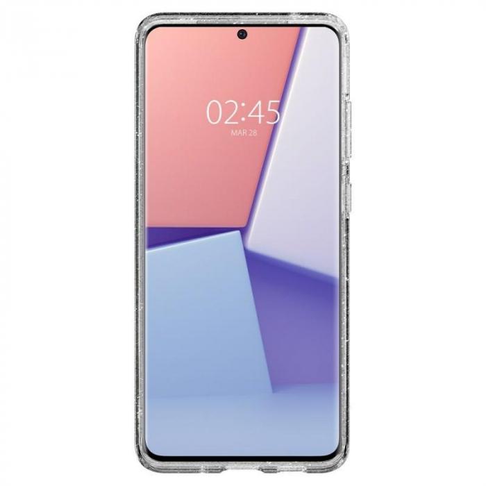 Husa Spigen Liquid Crystal Glitter Samsung Galaxy S20 Ultra 6