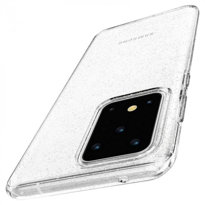 Husa Spigen Liquid Crystal Glitter Samsung Galaxy S20 Ultra 3