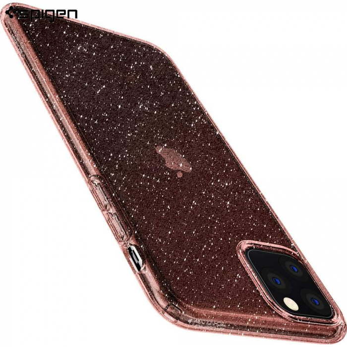 HUSA SPIGEN LIQUID CRYSTAL IPHONE 11 PRO  GLITTER ROSE 2
