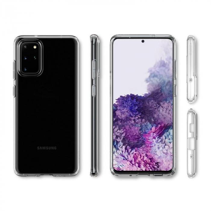 Husa Spigen Liquid Crystal Samsung Galaxy S20 Plus 3