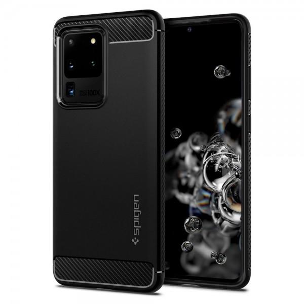 Husa Spigen Rugged Armor Samsung Galaxy S20 Ultra [0]