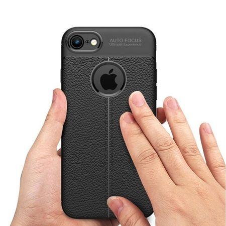 HUSA TPU SILICON APPLE IPHONE 6 BLACK LITCHI 0