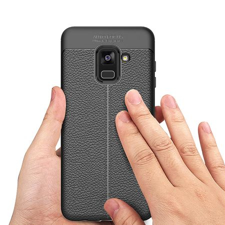 Husa Litchi TPU silicon Samsung Galaxy A530 A8 2018 [0]